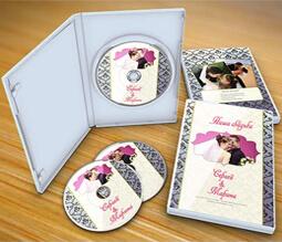 Свадебные диски печать
